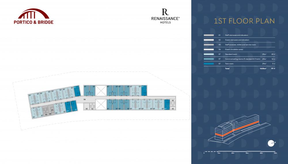 Portico and Bridge - Golden Visa - Marriott 1st floor plan