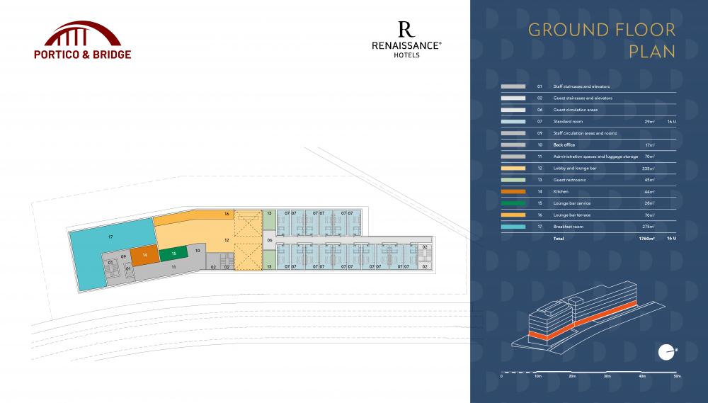 Portico and Bridge - Golden Visa - Marriott ground floor plan