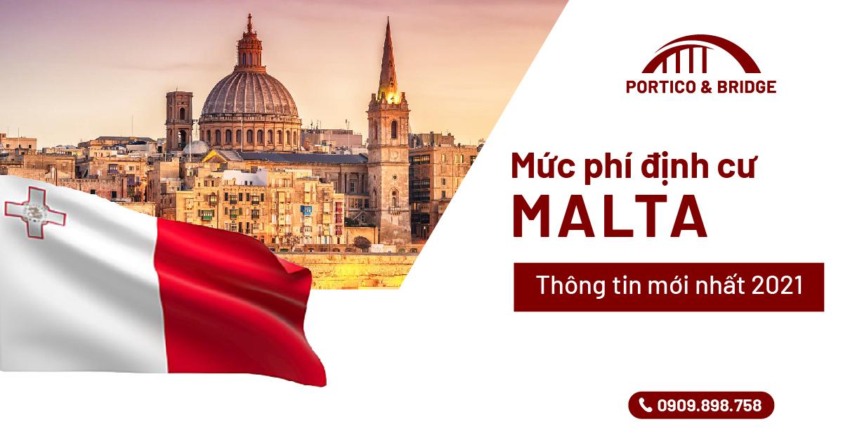 mức phí định cư Malta