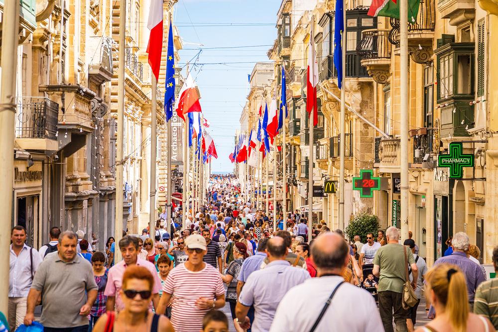 có nên định cư malta - đường phố malta