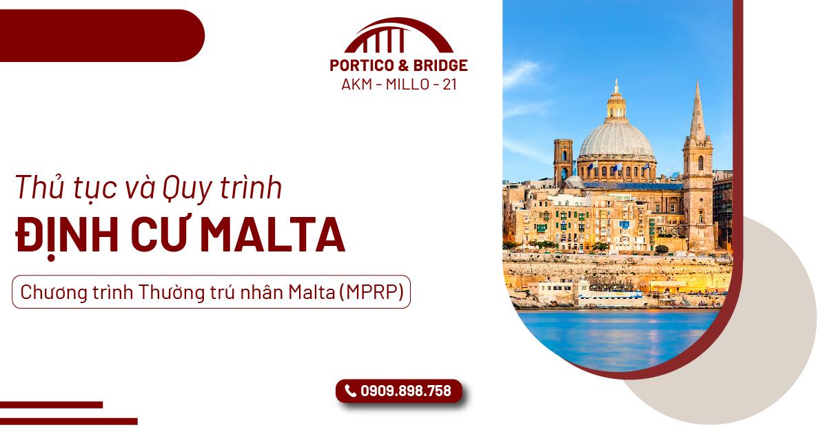 Thủ tục và quy trình định cư Malta