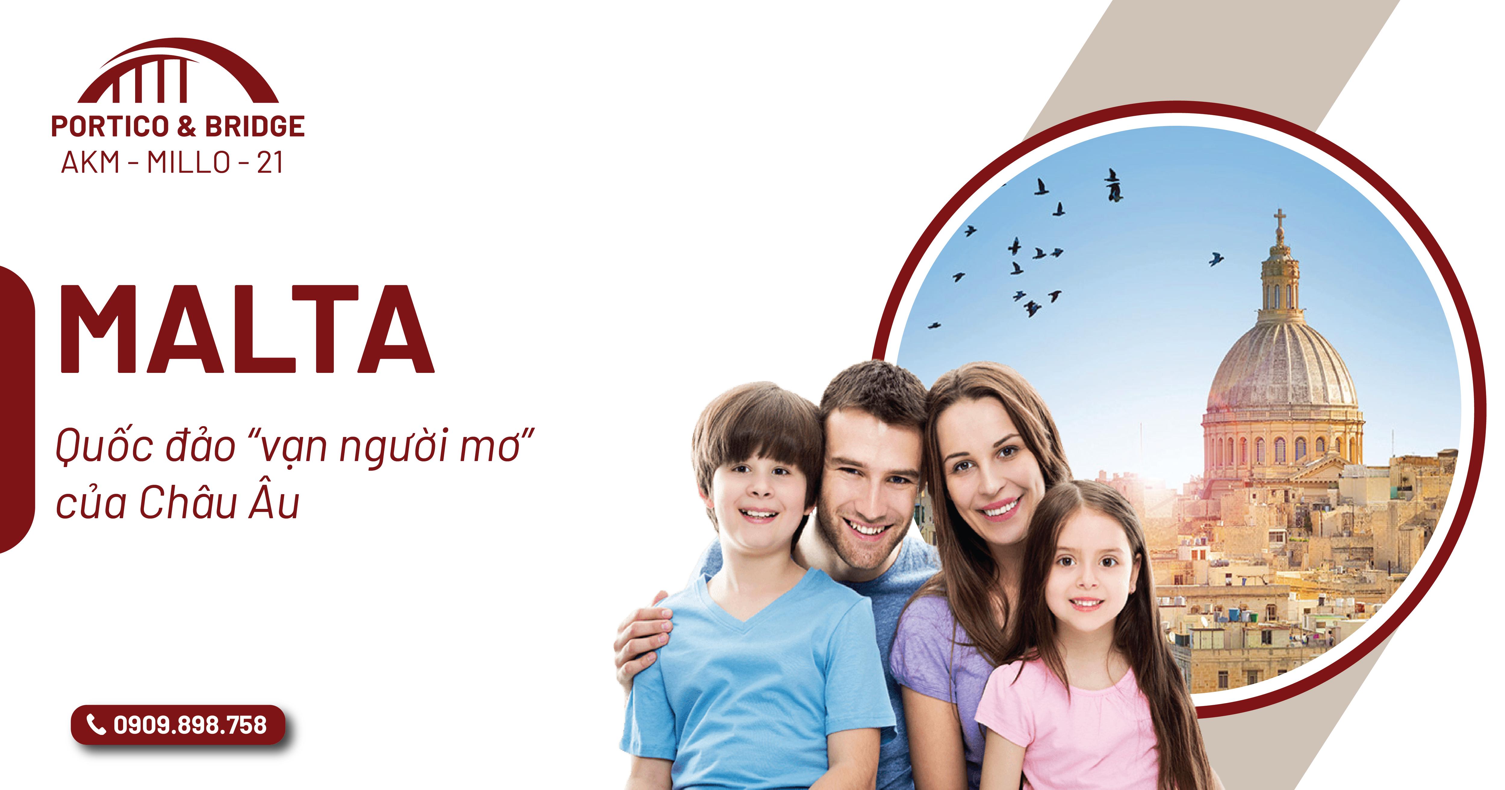 """Quốc đảo Malta """"vạn người mơ"""" của Châu Âu"""